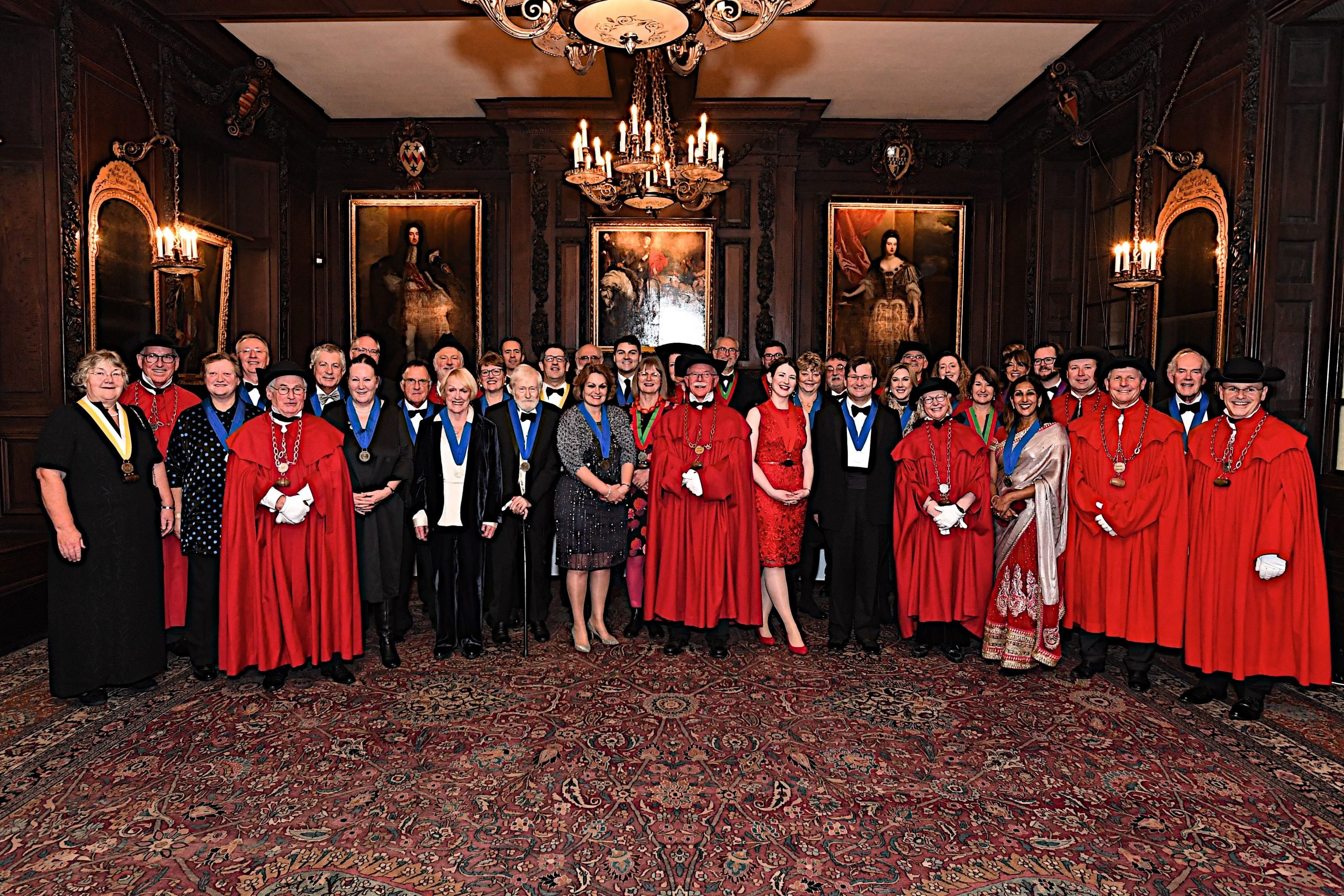 CHAPITRE EXCEPTIONNEL 26 NOVEMBRE 2019 IN LONDON AT VINTNERS' HALL